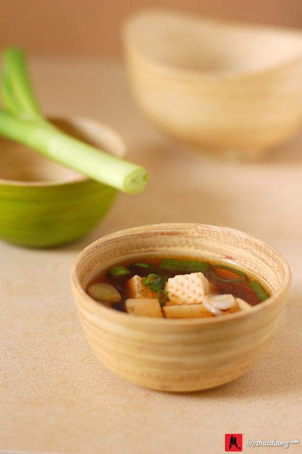 mon an thuc duong soup miso dau phu 4