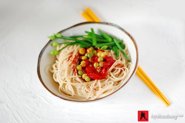 mon an thuc duong mi somen spaghetti 1