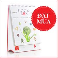 COOKBOX2 - Khoa học & nghệ thuật nấu ăn tự nhiên
