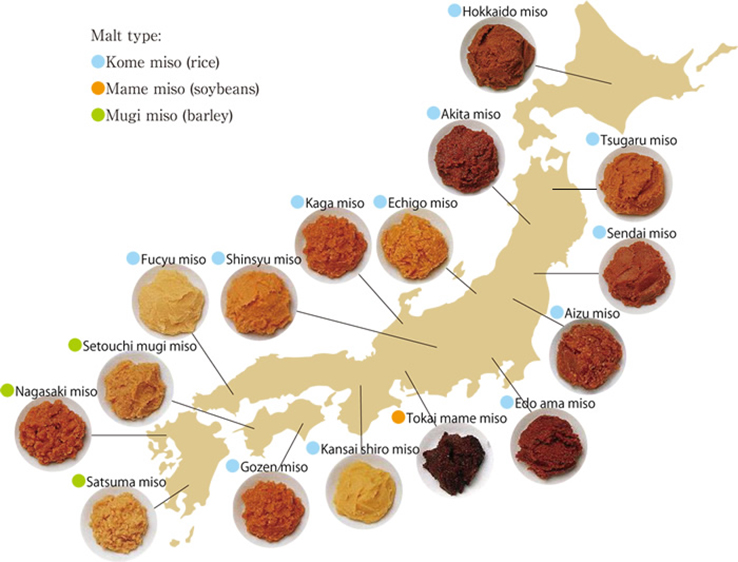 miso paste regions