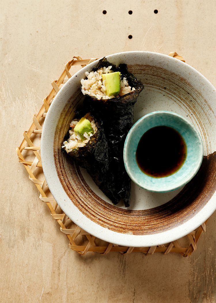 sushi ponzu chay 1