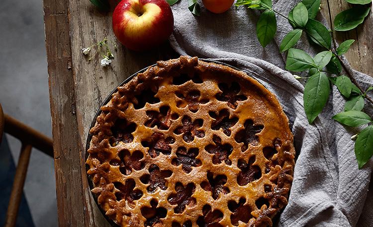 """Cách Làm Bánh Táo Nướng """"Apple Pie"""" Thực Dưỡng"""
