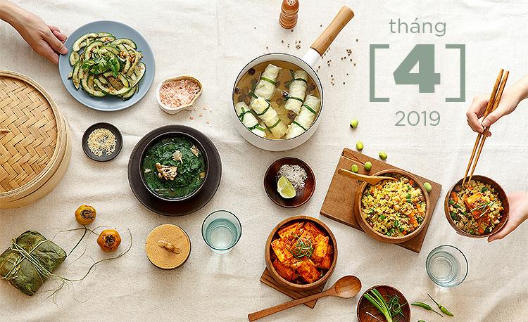 Lịch Học Khóa Nấu Ăn Thực Dưỡng & Nhiếp Ảnh tháng 4/2019