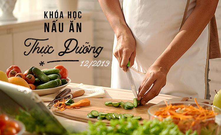 Lịch Học Khóa Nấu Ăn Thực Dưỡng & Nhiếp Ảnh tháng 12/2019