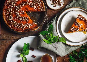 Cách Làm Bánh Tart Bí Đỏ Sốt Caramel